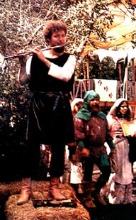 Lev Liberman at the Renaissance Faire, Novato, California, 1974.