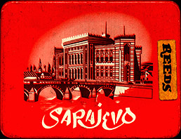 I stashed my reeds in a Sarajevo cigarette tin.